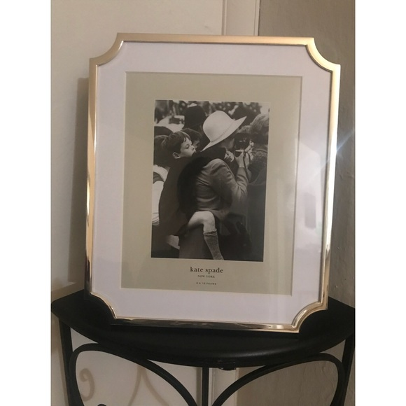 Kate Spade Accessories Sullivan Street Gold 8 X 10 Picture Frame
